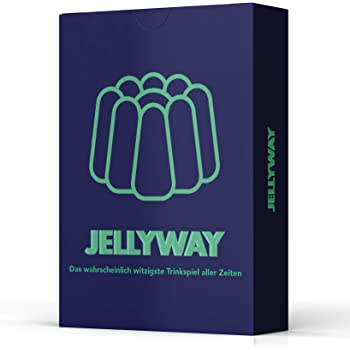 Jellyway® - das wahrscheinlich witzigste Trinkspiel Aller Zeiten   Witziges Spiel - Kartenspiel - Spieleabend - Trinkspiel - Partyartikel - Scherzartikel - Saufspiel - Partyspiel