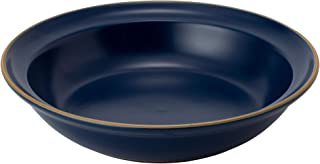 TAMAKI カレー パスタ皿 エッジライン ブルー 直径21×高さ4.6cm 700ml 電子レンジ・食洗機対応 T-889176