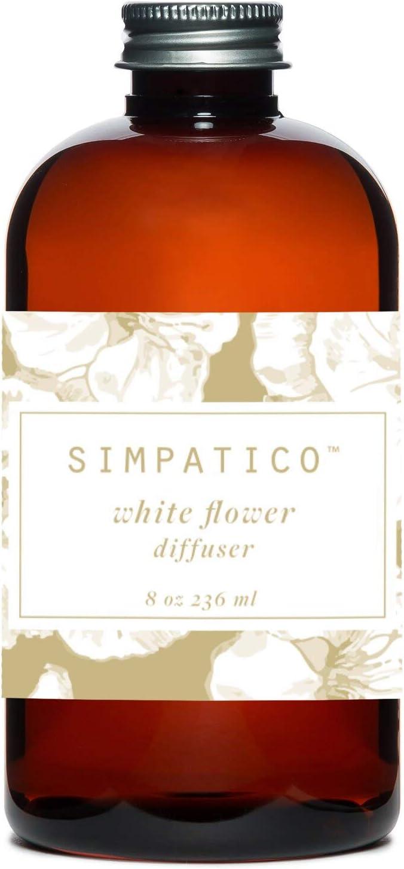 Simpatico White Flower Refill Oil 8 Ounces