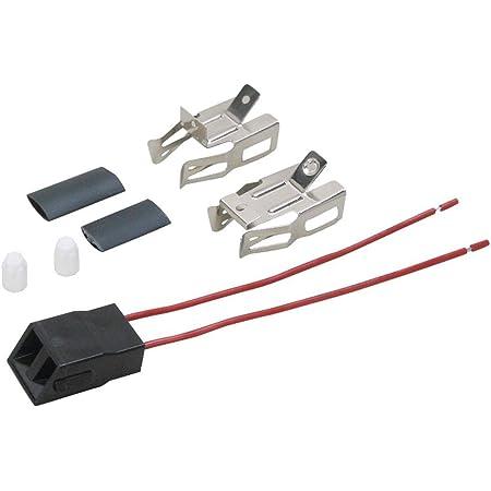 2-Pack HQRP Range Top Burner Receptacle Kit for Amana FDU2482K FDU2492WW