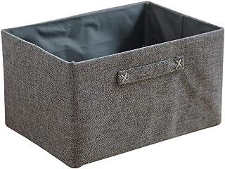 Boîte De Rangement, Boîte De Rangement Multifonctionnelle 32 × 22 × 18 Cm De Panier De Rangement En Tissu Pour Le Panier D...
