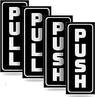 door pull sign