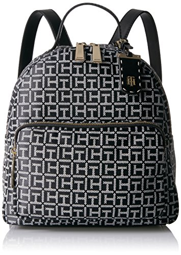Tommy Hilfiger Backpack for Women Julia, Black/White