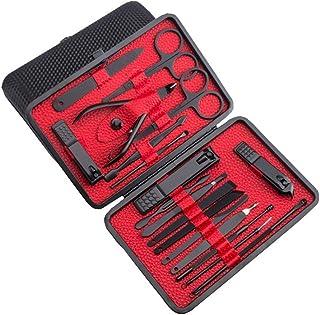 Perfecbuty (18in1) Molteplici usi, Kit Bellezza pedicure e manicure, di Precisione Acciaio Inossidabile Professionale Tagl...
