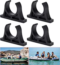 Kayak Paddle Clips Durable Plastic Paddle Oar Holder Clips Canoes Rowing Boat S1