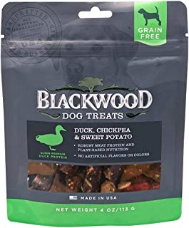 Blackwood Pet Grain Free Dog Treats Made in USA [Natural Dog Treats For Healthy Snacks], Available in 3 Flavor Varieties, 4 oz. resealable bag