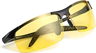 960251b48c Myiaur gafas de so polarizadas amarillas para hombre de la conduccion  nocturna/la motos nocturna