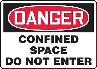 Accuform MCSP230VA Aluminum Safety Sign, Legend