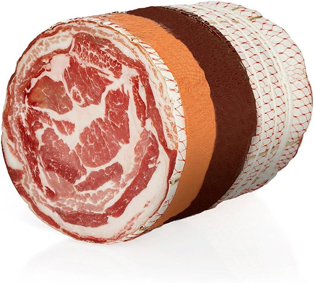 Salumi pasini pancetta coppata tipica senza glutine e lattosio 100% carne italiana 2 kg