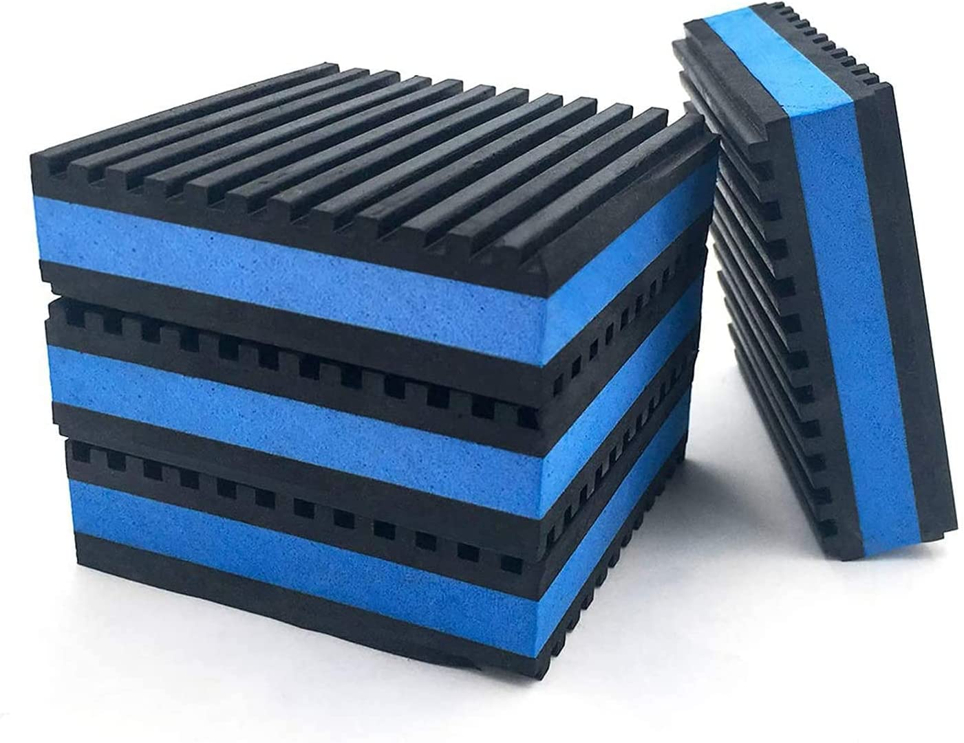 LBG Products Rubber 25% OFF Anti-Vibration Isolator Heavy Blue Pads Some reservation Duty