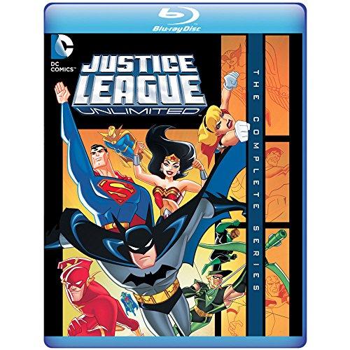 Justice League Unlimited: The Complete Series (3 Blu-Ray) [Edizione: Stati Uniti]