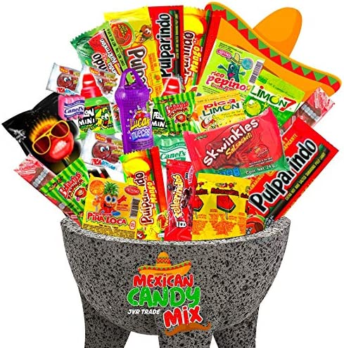 Mexican Candy Mix Assortment Snack 40 Count Dulces Mexicanos Variety Of Best Sellers Spicy Sweet product image