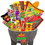 🍭Hand picked fresh candy from the most popular SPICY, SWEET, SOUR candies and popular brands of dulces from Mexico 🍭Each bag contains over 1 pound of popular favorite candies: Pelon Pelo Rico, Lucas Muecas Chamoy, Pulparindo Yellow and Red XtraHot, S...