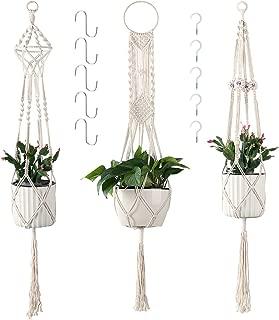 Best macrame hanging basket holder Reviews
