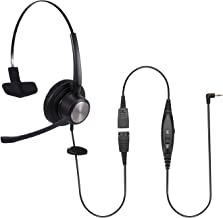 $29 » Sinseng 2.5mm Phone Headset with Noise Canceling Microphone,Headphones for Call Center Office, Telephone Headset Compatibl...
