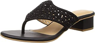 BATA Women's Polka Thong Slipper