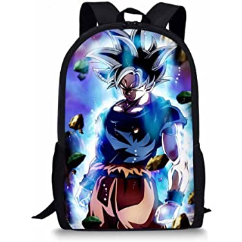 Gumstyle Dragon Ball Classic Shoulder School Bag Anime Cosplay Messenger Bag Blue