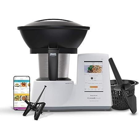 Taurus Mycook Touch Unlimited Edition - Robot de Cocina, wifi, 1600W, 2L, 140 grados, multifunción, app mycook miles de recetas, conectable con tu ...