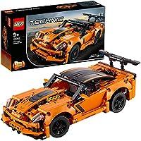 LEGO42093TechnicChevroletCorvetteZR1&Hotrod,2-in-1sportautomodel,Raceauto'scollectie
