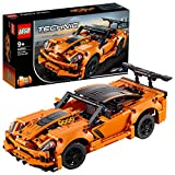LEGO 42093 Technic Chevrolet Corvette ZR1 Rennwagen oder Hot Road, 2-in-1 Modellauto, Rennwagen-Kollektion - LEGO