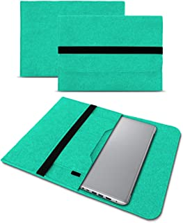 UC-Express Sleeve hoes compatibel met Lenovo ThinkPad T14 T14i T14s tas vilt notebook cover laptop case 14 inch, kleur: mint