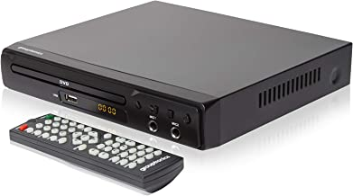 Grouptronics GTDVD-1000 - Reproductor de DVD (multiregión, HDMI, 2 micrófonos de Karaoke y USB, Incluye Mando a Distancia y Audio RCA)