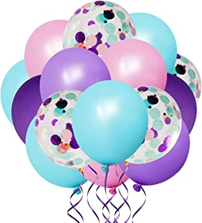 princess birthday party decorations whimsical blue babys first baby shower wedding agate whimsy striped purple marble balloons