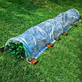 WMQ Invernadero, Tierra Garden Easy Fleece Tunnel Garden Cloche