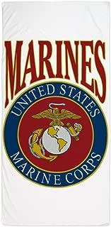 Beach Towel US Marines Marine Corps Emblem