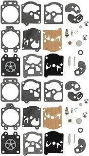 Allong Pack of 2 K10-WAT Carburetor Rebuild Kit Gasket Diaphragm for STIHL Husqvarna McCulloch Echo Chainsaw Edger Trimmer