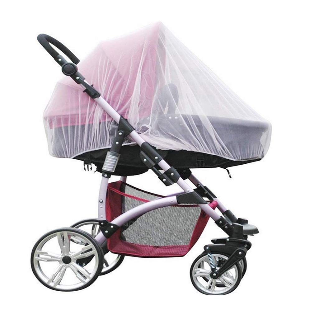 Digead Mosquito Net for Stroller, Baby Carriage, Crib and Travel Cot Full-Coverage Mosquito Net - Diameter50cm(20 inches)
