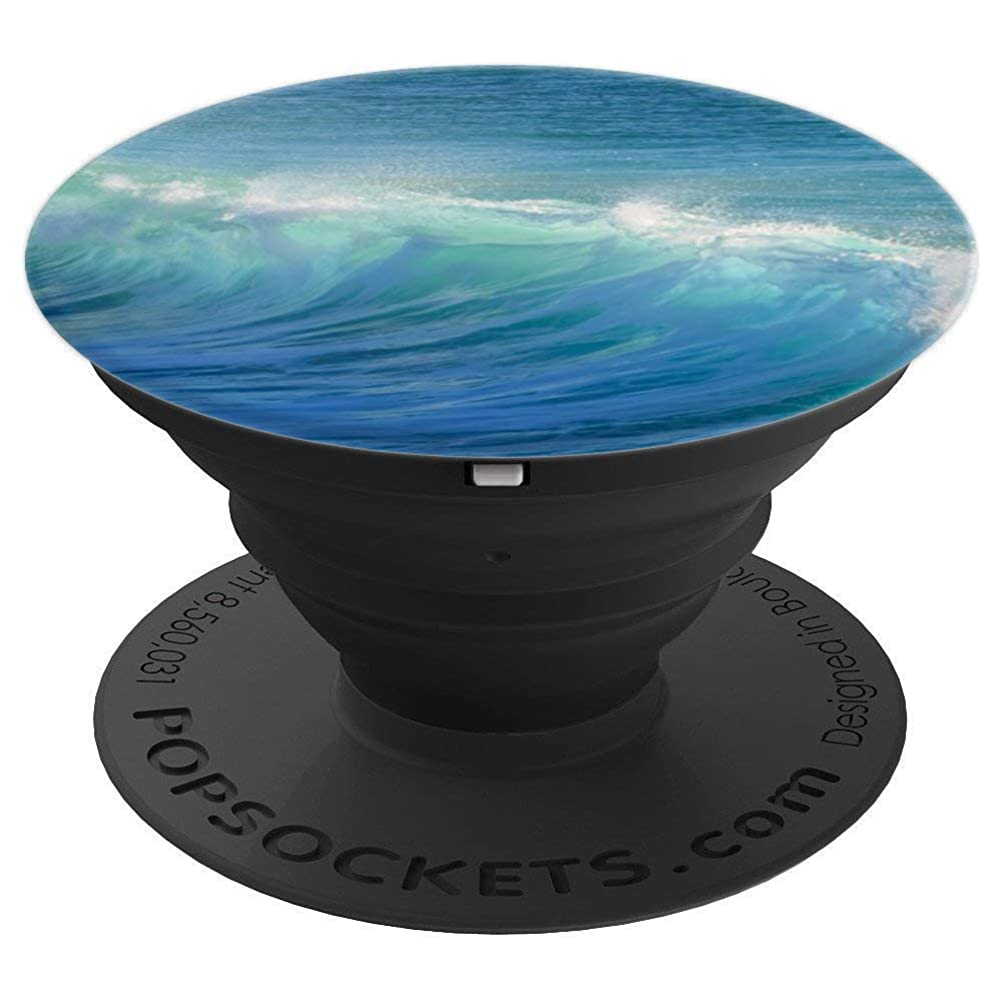 Ocean Wave Theme - PopSockets Grip and Stand for Phones and Tablets keweqfnikmq59139