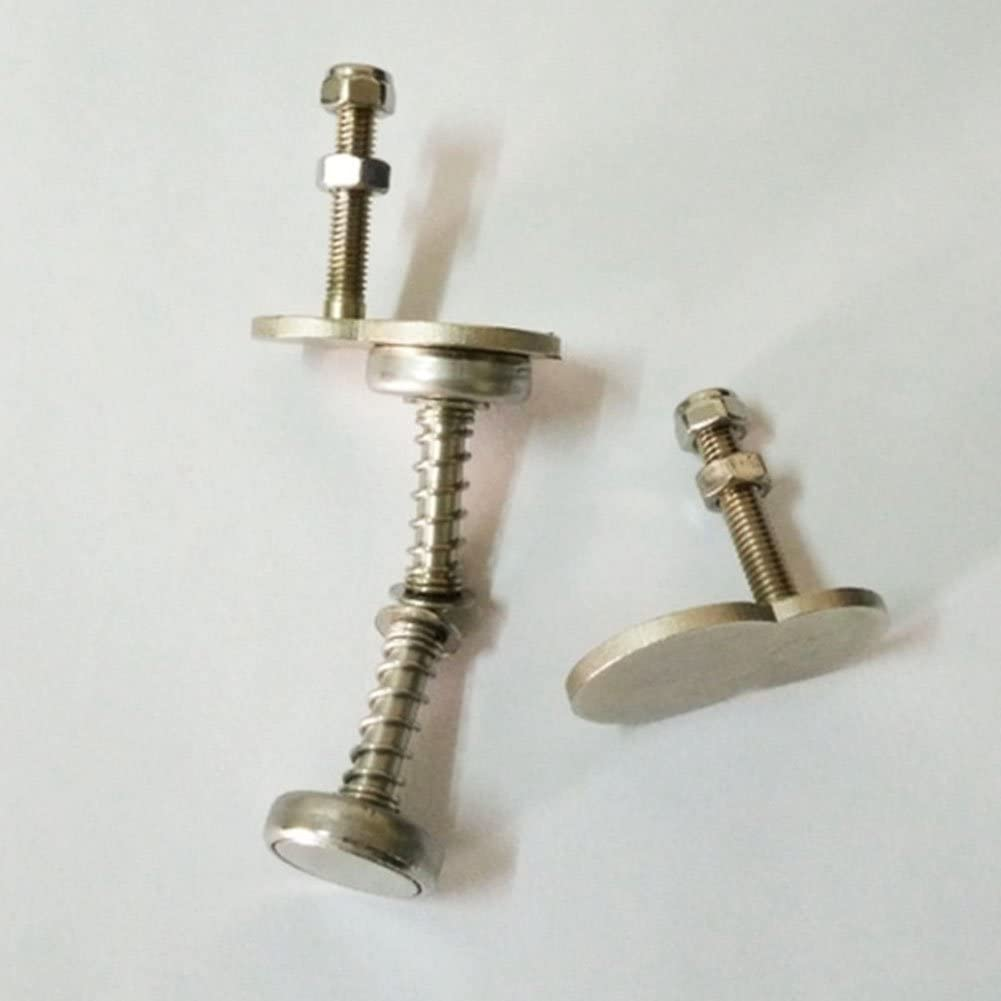 2 Pack Folding Bike Bicycle Locking Fixing Magnetic Buckle Magnet Screw Stopper