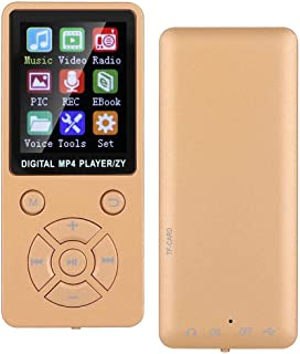 ASHATA MP4 Player,T1 Music Bluetooth MP3 MP4 Player,Mini Portable Student Player 8G Bluetooth Support 32G Memory Card,Musi... photo