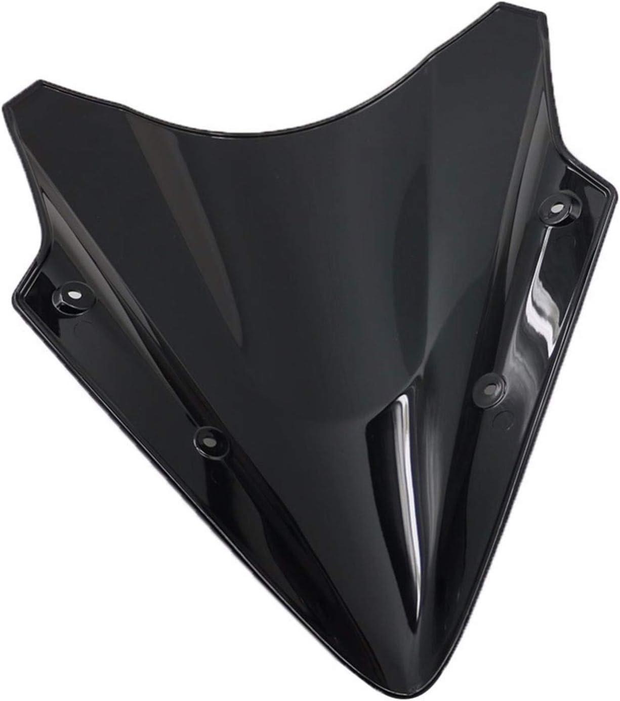 MDZZ Lowest price challenge Motorcycle Black Windscreen cheap Windshield for Nin Kawasaki Fit