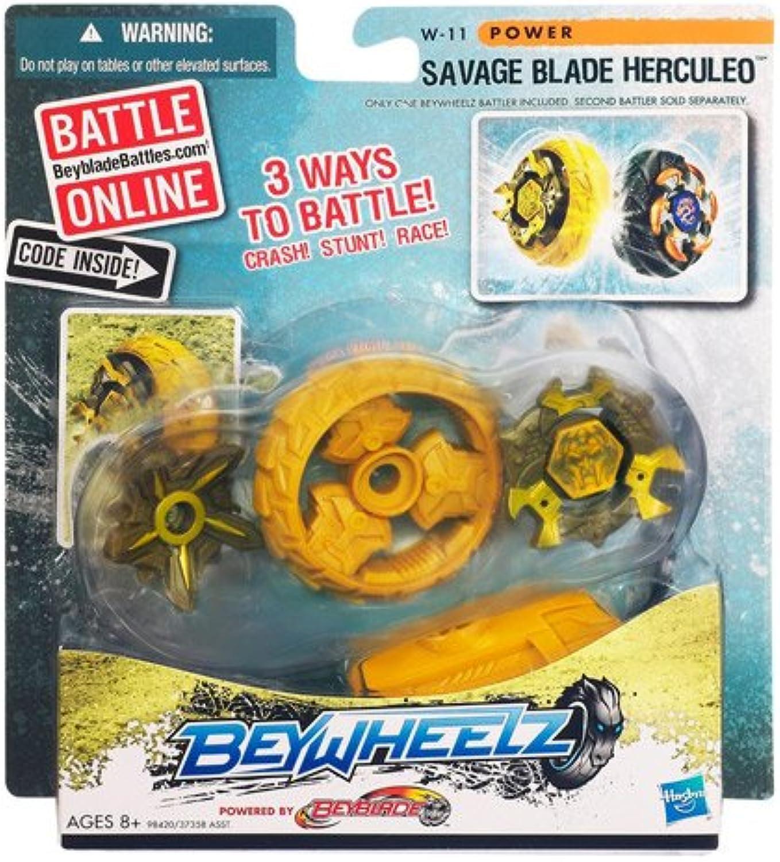 El ultimo 2018 Hasbro Hasbro Hasbro Beyblade Beywheelz Battlers [Savage Blade Herculeo]  Seleccione de las marcas más nuevas como