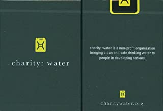 theory11 Charity Water Playing Cards