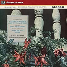 Capriccio Italien Op. 45 & Andante Cantabile