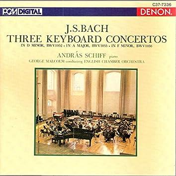 Bach: Three Keyboard Concertos