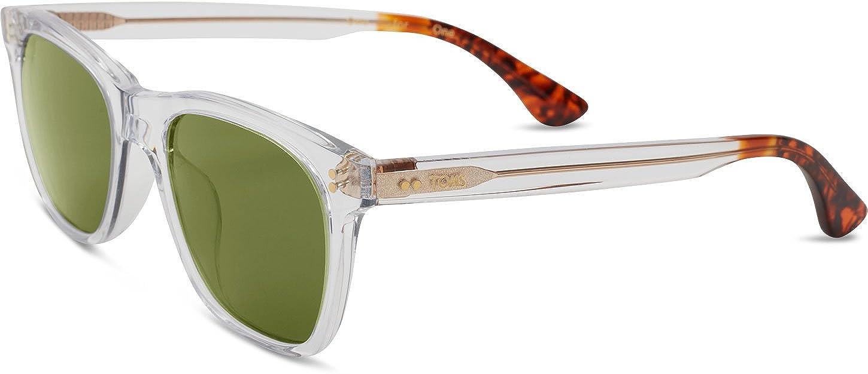 TOMS Fitzpatrick Rectangular Sunglasses