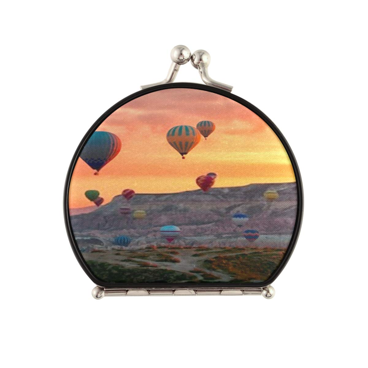 Magnifying Max 48% OFF Manufacturer regenerated product Compact Cosmetic Mirror Hot Air Flying Balloons Tour