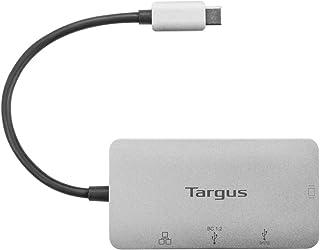 Targus USB-C DP Alt Mode Single Video VGA Docking Station with 100W PD Pass-Thru, Gray (DOCK417USZ)