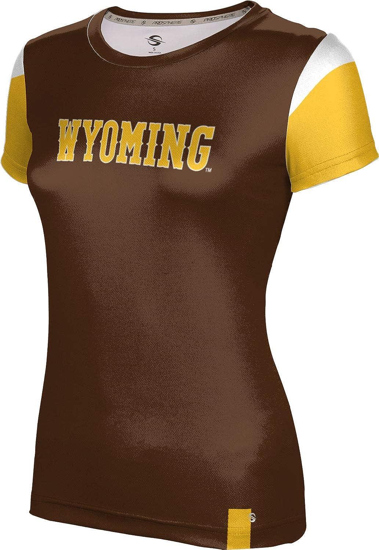 ProSphere University of Wyoming Girls' Performance T-Shirt (Tailgate)