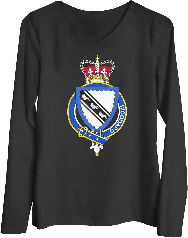 HARD EDGE DESIGN Women's English Garter Family Woodard T-Shirt