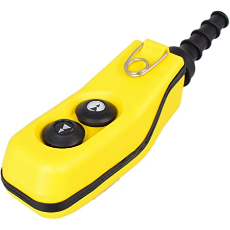 Hängetaster Elektrische Kran Steuerflasche Steuerschalter mit Not-Aus Button