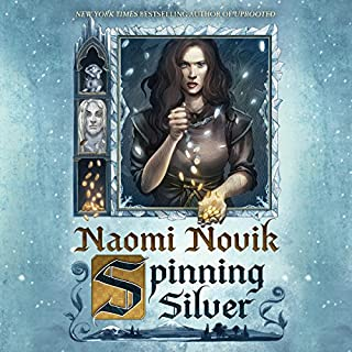 Spinning Silver                   By:                                                                                                                                 Naomi Novik                               Narrated by:                                                                                                                                 Lisa Flanagan                      Length: 17 hrs and 56 mins     3,965 ratings     Overall 4.7