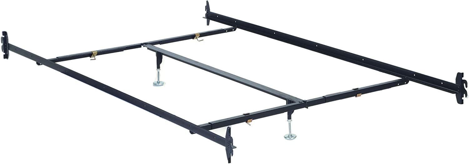 Acme 02508 Queen Bed Rail with Center Support, 3-Inch
