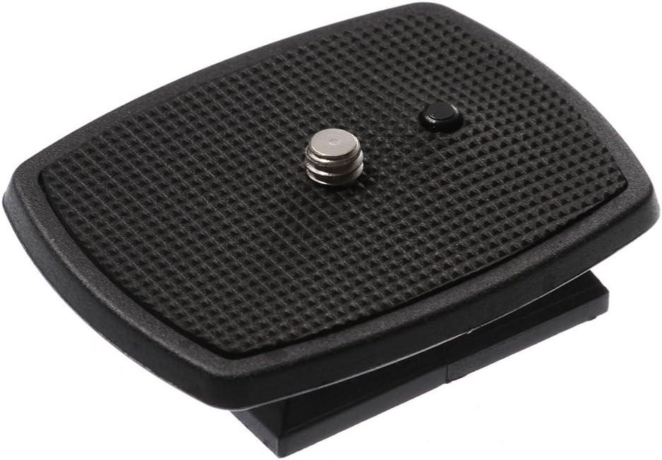 FocusFoto Universal QB-4W Quick Release Plate Platform Replace for Tripod Velbon CX-444, CX-888, CX-460, CX-460mini, CX-470, CX-570, CX-690, DF-50, Sony VCT-D580RM, VCT-D680RM, VCT-R640