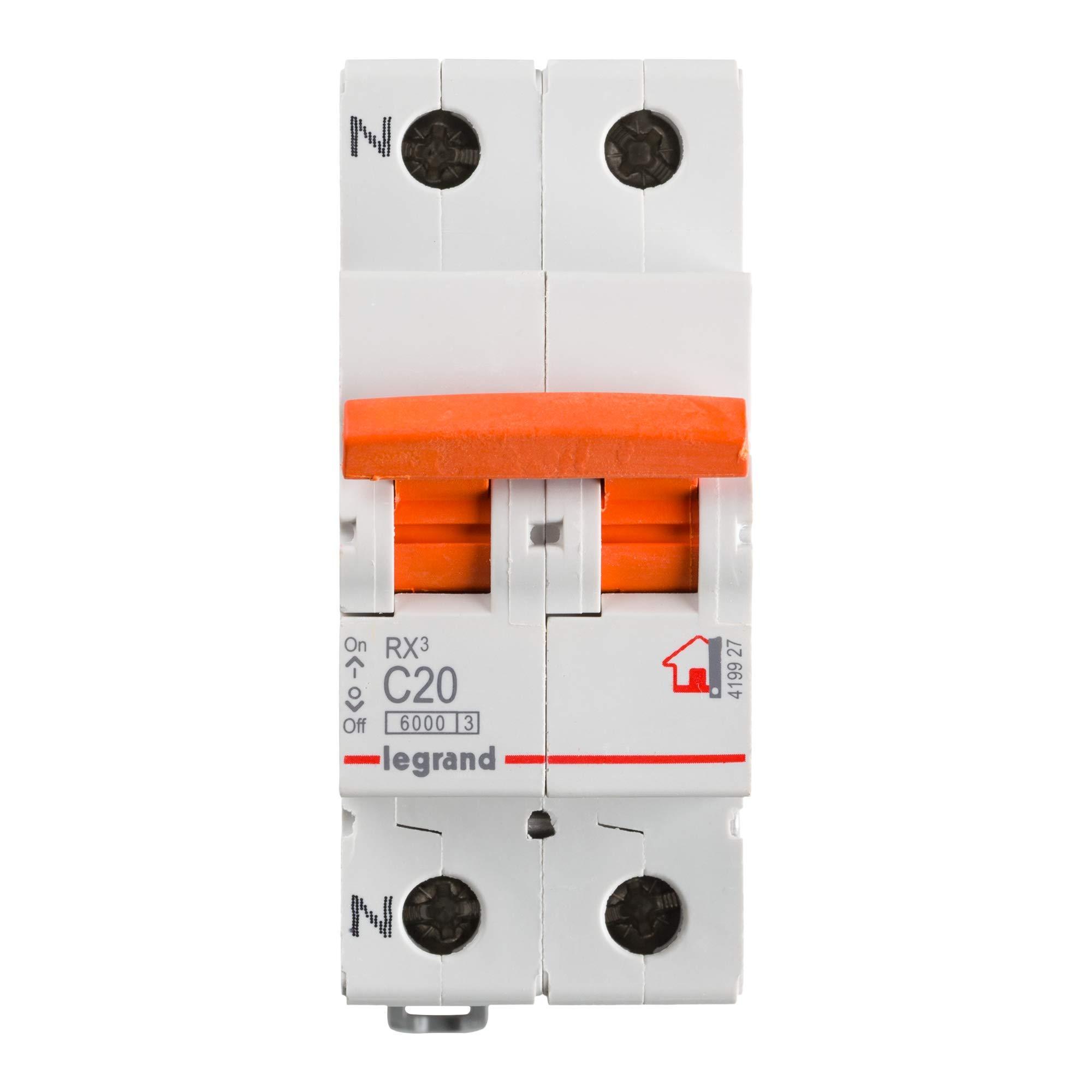 Legrand, Interruptor Diferencial, Protector de sobrecargas, 20A: Amazon.es: Bricolaje y herramientas