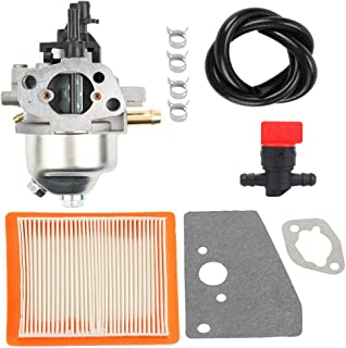 Harbot Carburator with Fuel Line Shut Off Valve Rebuild Diaphragm Gasket Kit for Kohler XT650 XT675 XT149 20371 Courage XT6 XT7 Engine 14 853 21-S 14 853 36-S 14 853 49-S Stens 520-706